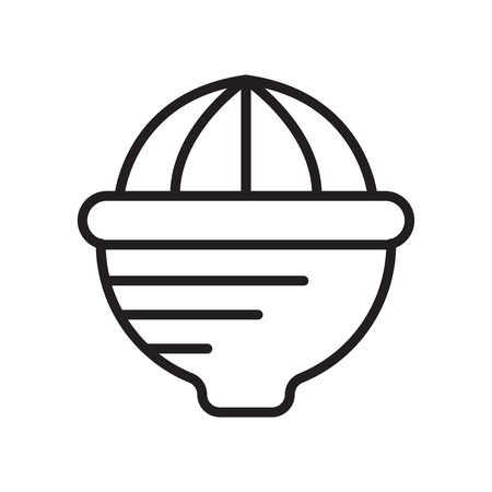 Squeezer icon isolated on white background for your web and mobile app design