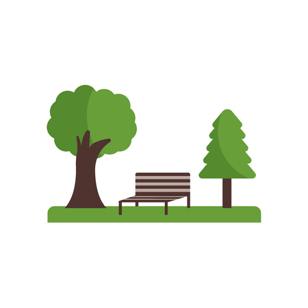 Park icon isolated on white background for your web and mobile app design Ilustração