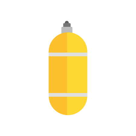 Oxygen tank icon isolated on white background for your web and mobile app design