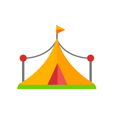 Tent icon vector isolated on white background for your web and mobile app design, Tent logo concept 矢量图像