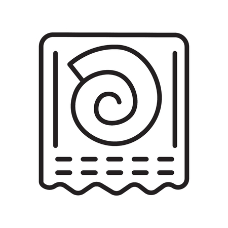 Fossil icon isolated on white background for your web and mobile app design Stock Vector - 107593077
