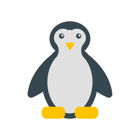 Penguin icon vector isolated on white background for your web and mobile app design, Penguin logo concept
