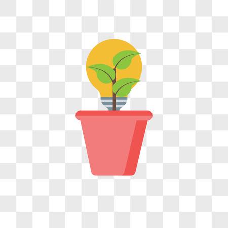 Renewable energy vector icon isolated on transparent background, Renewable energy logo concept Logo