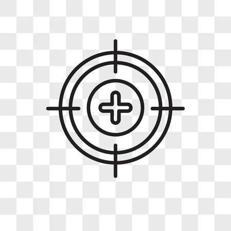 Calibrate vector icon isolated on transparent background, Calibrate logo concept