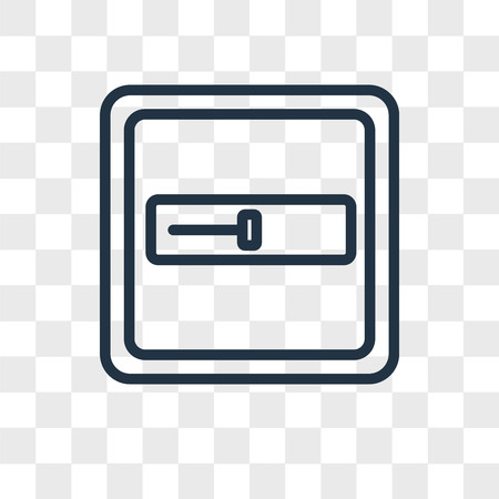 Input vector icon isolated on transparent background, Input logo concept