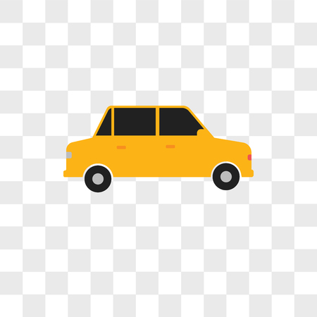 Car vector icon isolated on transparent background, Car logo concept Фото со стока - 108198819
