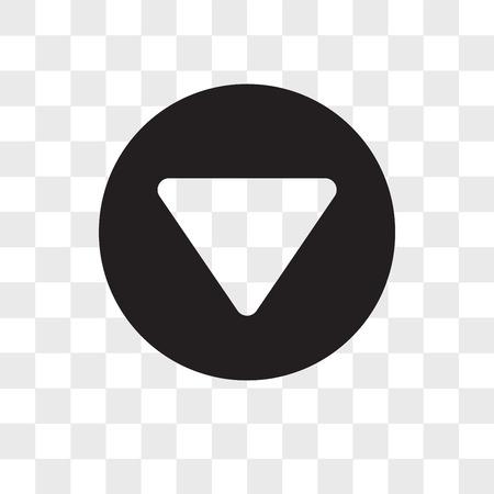 Icône de vecteur de menu isolé sur fond transparent, concept logo Menu Logo