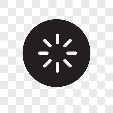Loading vector icon isolated on transparent background, Loading logo concept
