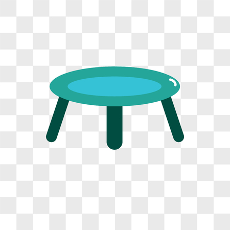 Trampoline vector icon isolated on transparent background, Trampoline logo concept