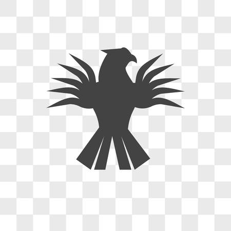 griffin vector icon isolated on transparent background, griffin logo concept