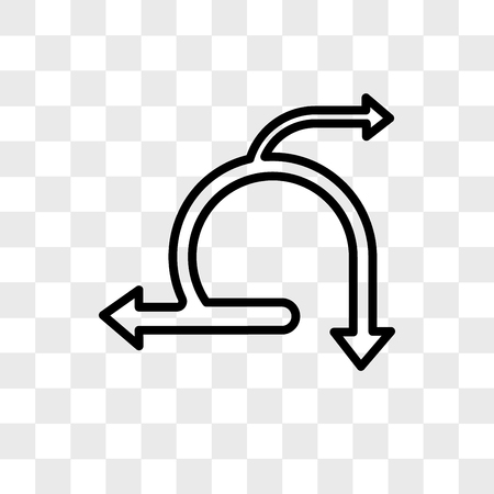 icono de vector ágil aislado sobre fondo transparente, concepto de logo ágil