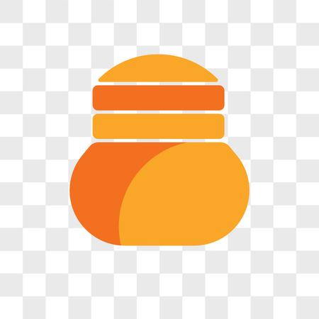 Semla vector icon isolated on transparent background, Semla logo concept