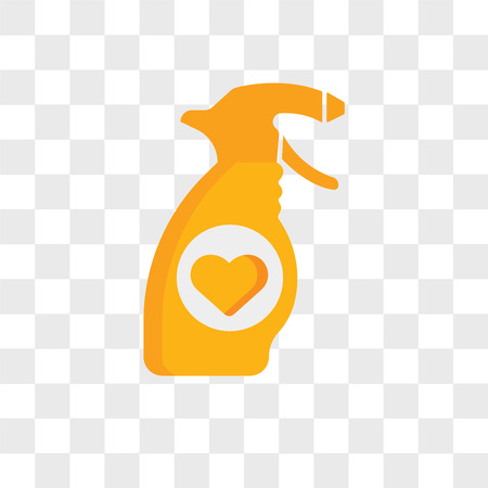 Spray vector icon isolated on transparent background, Spray logo concept
