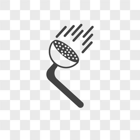 pressure washing vector icon isolated on transparent background, pressure washing logo concept