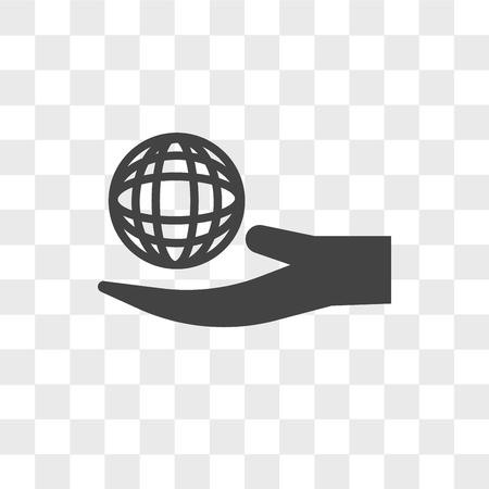 Icona di vettore di responsabilità sociale aziendale isolato su sfondo trasparente, concetto di marchio di responsabilità sociale aziendale Vettoriali