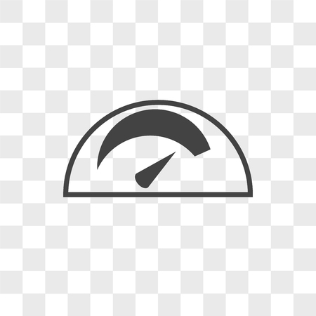 mileage vector icon isolated on transparent background, mileage logo concept