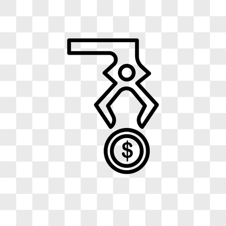 Steal vector icon isolated on transparent background, Steal logo concept