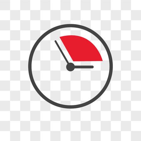 icono de vector pendiente aislado sobre fondo transparente, concepto de logo pendiente Logos