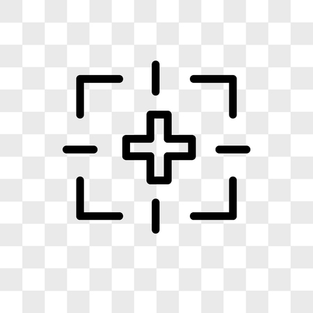 Photo vector icon isolated on transparent background, Photo logo concept Foto de archivo - 108990224