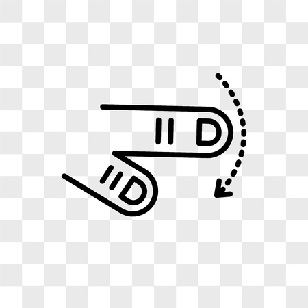 Tap vector icon isolated on transparent background, Tap logo concept