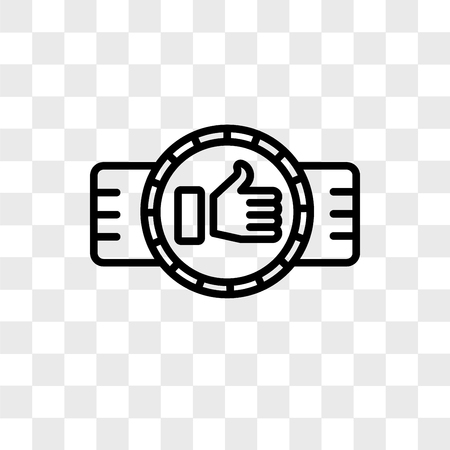 Best vector icon isolated on transparent background, Best logo concept Logo