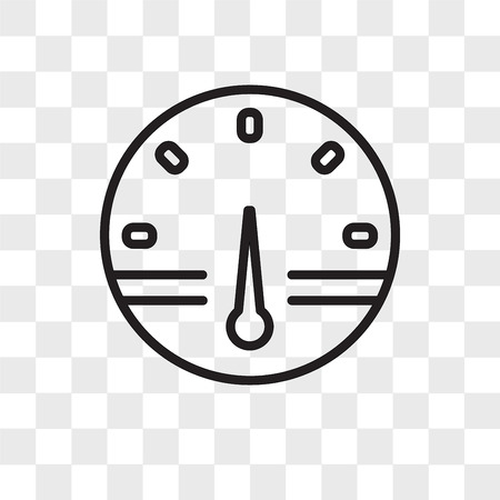 smart meter vector icon isolated on transparent background, smart meter logo concept