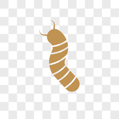 Grub vector icon isolated on transparent background, Grub logo concept