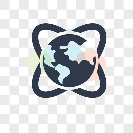 Global Awareness vector icon isolated on transparent background, Global Awareness logo concept Illustration