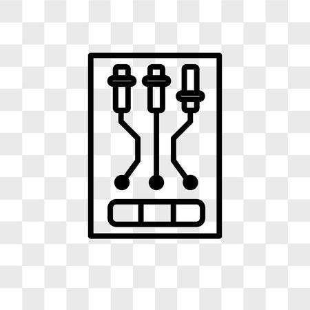 icono de vector aislado sobre fondo transparente, concepto de logo