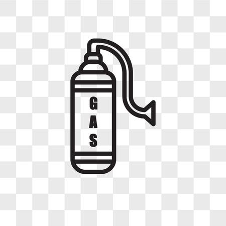 gaz vector icon isolated on transparent background, gaz logo concept
