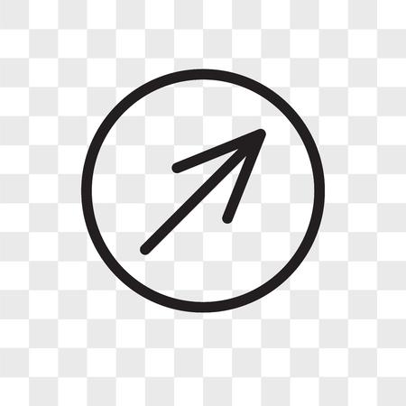 Diagonal vector icon isolated on transparent background, Diagonal logo concept