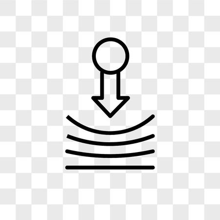 icono de vector de resiliencia aislado sobre fondo transparente, concepto de logo de resiliencia