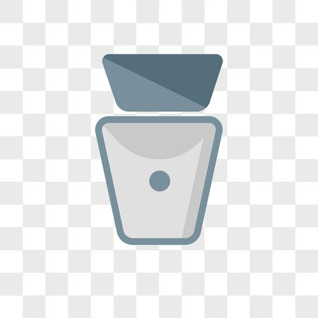 Icono de vector de aseo aislado sobre fondo transparente, concepto de logo de aseo