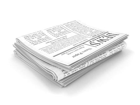 3d Newspaper photo