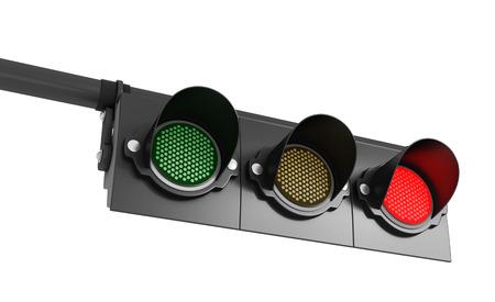 traffic signal: light