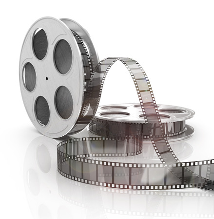 素敵な映画のストリップの背景のイメージ 写真素材