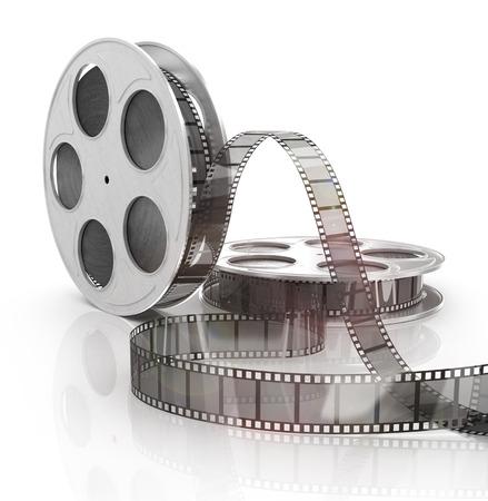 macro film: image of a nice film strip background Stock Photo