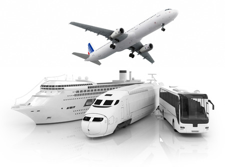 szállítás: utazási koncepció