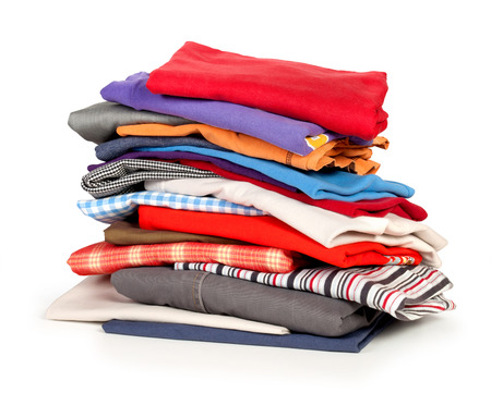 dirty clothes: clothing Stock Photo