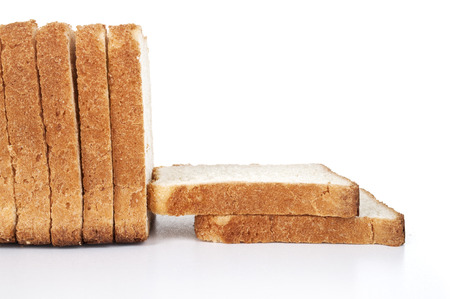tommy: sliced bread isolated on white background