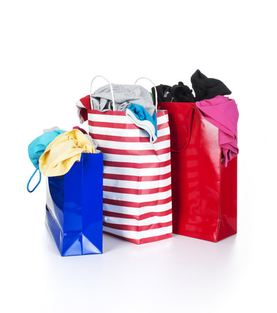 Clothes in a bag photo