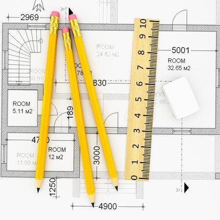 construction plan  photo