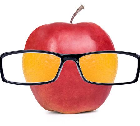 fruit guy apple photo