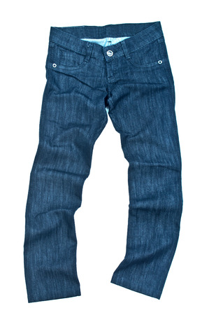 jeans isolated photo