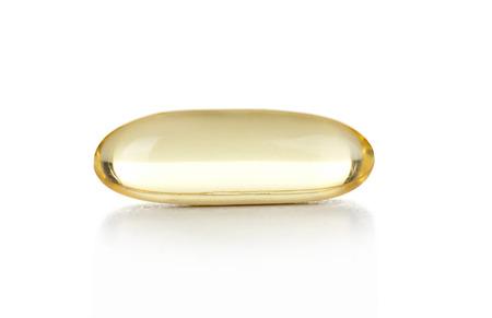 capsule on white background photo