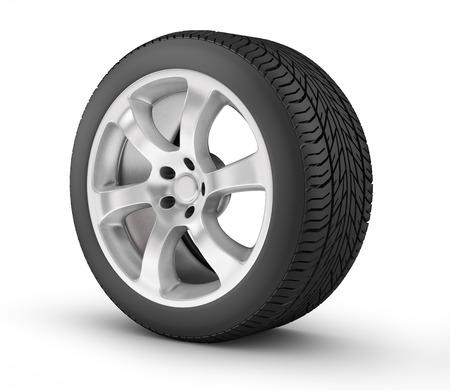 3D wheel photo