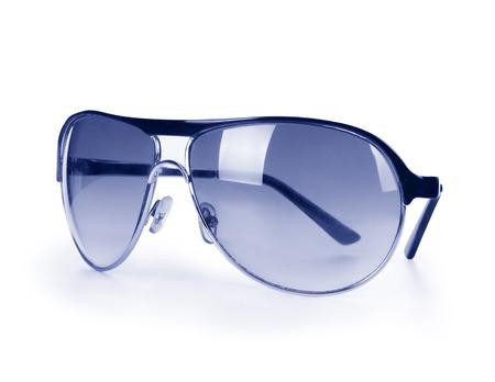 protective eyewear: sunglasses isolated on white
