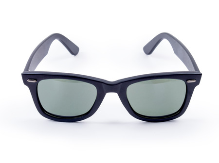 ray ban: Sunglasses isolated against a white background