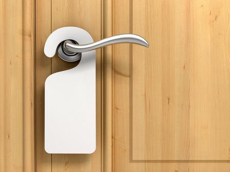 puerta vacía no molestar