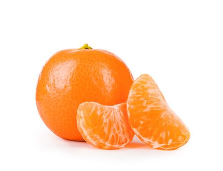 orange peel clove: Orange isolated on a white background